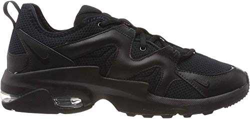 Nike Damen WMNS AIR MAX GRAVITON Laufschuhe, Schwarz (Black/Black 002), 38.5 EU