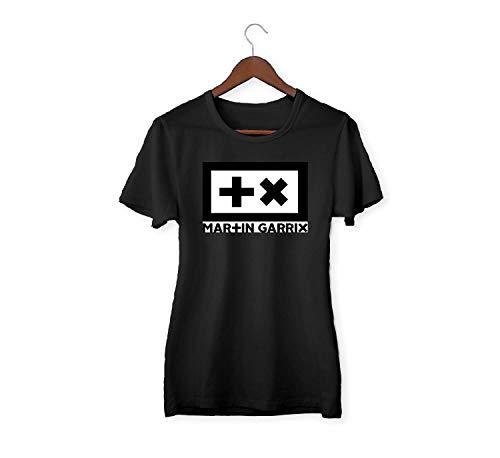Martin Garrix T X Logo Shirt T-Shirt For Women para Mujeres T Shirt Tshirt Camiseta Novelty Cute Funny Gift
