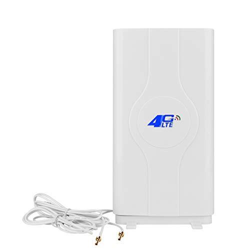 NETVIP 35dBi 2 x CRC9 4G Hochleistungs LTE Antenne mit hoher Reichweite fur Mobile Hotspots 4G 3G LTE MIMO Signal Verstarker Antenne fur Huawei E3276 EC3372 Netgear 340U 341U 782s 785z 790s