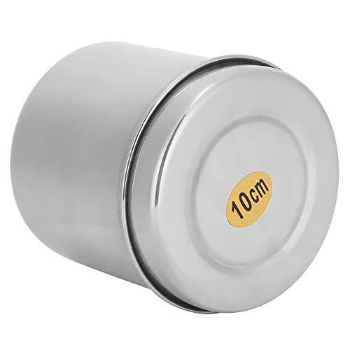Pot de Boule de Coton, Paquet de 2 éponges de Maquillage Organisateur de Stockage sels de Bain boîte de Boule de Coton, pour Coton-Tige