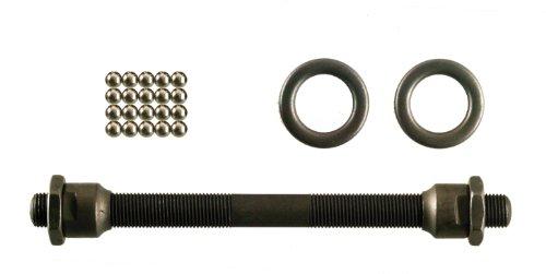 Point Achse Vorderradachse, schwarz, ∅ 9 mm - Länge 130 mm, 30011800