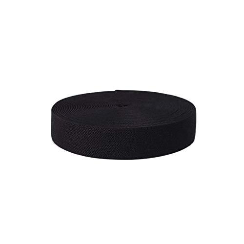 Maillots de bain Bnew 6 MM x 5 m Hemline général Tressée en polyester noir stretch élastique