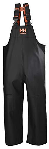 Helly-Hansen Workwear Men's Storm Rain Bib, Black - Medium