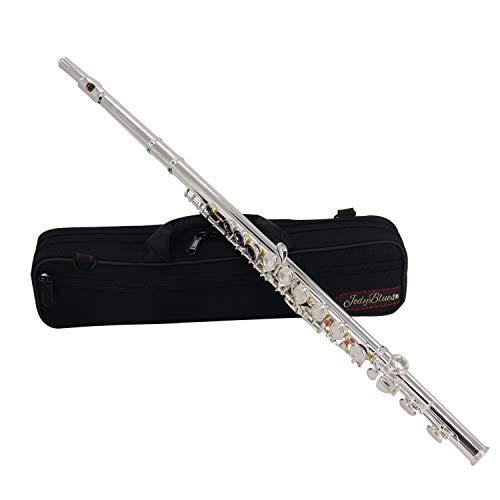 Flute 16 Keys Nickel Silver Closed Hole C High Student Beginner Grade...