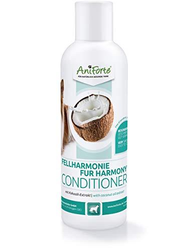 AniForte Fellharmonie Conditioner für Hunde 200ml - Natürlicher Hundeconditioner, Kokosöl Extrakt, Conditioner Hund, Hunde Conditioner, spülung für Hunde, Dog Conditioner, Hunde Shampoo Conditioner