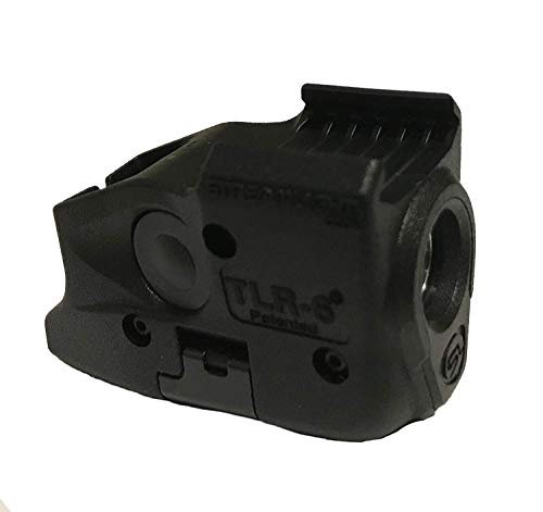 Streamlight TLR-6 Tactical Pistol Mount Flashlight 100 Lumen Only for Glock Railed Hand Guns, Black