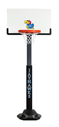 NCAA Kansas Jayhawks Team Basketball Hoop