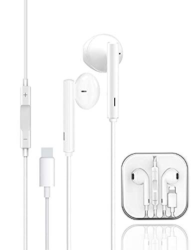 Auricolari per iPhone con Microfono e Controllo del Volume Audio HiFi Stereo Insonorizzato con Riduzione del Rumore Cuffie Compatibile con iPhone 12 12 Pro SE 11 11 Pro Max XR XS XS Max 8 8P 7 7P