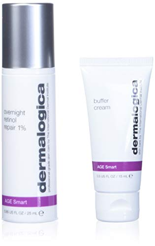 Dermalogica 111263 Age Smart Overnight Retinol Repair 1% inkl. Buffer Cream Hautpflegeset,