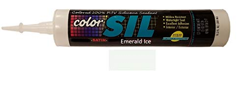 Color Matched Silicone Caulk - Southern Grouts & Mortar (39 Colors) (Emerald Ice)