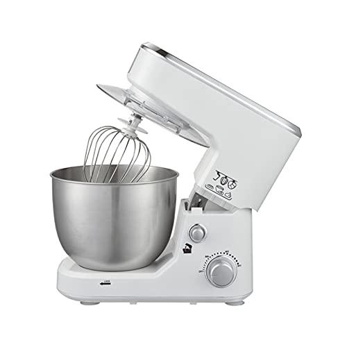 Frullatori Elettrici Cucina Piccoli, Robot Da Cucina Multifunzione Con Molti Accessori, Può Mescolare Latte Le Uova Sbattute Goditi Più Tempo Di Cottura (Color : White)