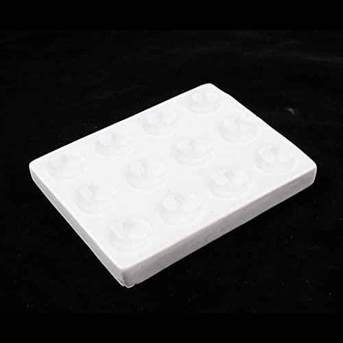 ShuYing Laboratorio de cerámica de la placa de la reacción de las placas del punto de la porcelana reutilizable, 1