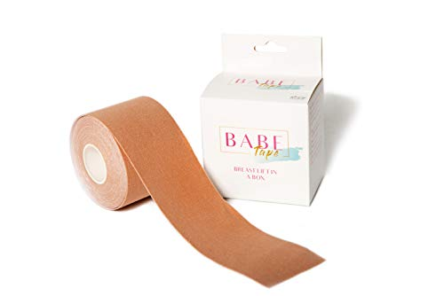 Boob Tape - Instant Breast Lift - Your NO Bra Solution! Strapless Breast Lift Tape, DIY Boob Lift Tape, Easy to Apply Body Tape, Sticky Bra, Adhesive Bra, Booby Tape