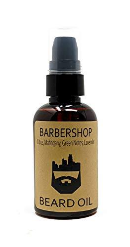 OakCityBeardCo. - BarberShop - 2oz Beard Oil - Beard Conditioner - Citrus - Mahogany - Green Notes - Lavender - Classic Clean Fresh Scent