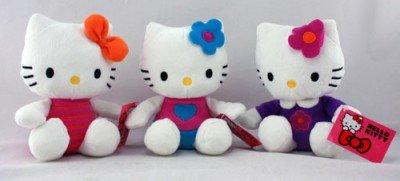 Hello Kitty Original Plüsch 16 cm