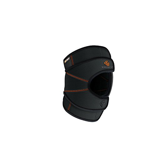 Shock Doctor Knee Brace Wrap, Knee Support Stabilizes Patella, Provides Comfortable & Lightweight Compression to Stabilize Muscles in the Knee, Single, M