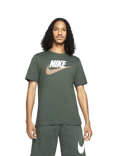NIKE Sportswear Mens T-Shirt Camiseta para Hombre, Jade Galactic Apricot Agate, Extra-Small