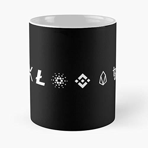 Xrp Litecoin Ada Ripple Cardano Bitcoin Tron Ethereum Best 11 oz Kaffeebecher - Nespresso Tassen Kaffee Motive