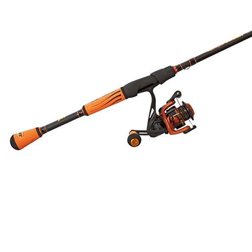LEW'S Fishing Mach Crush Speed Spin Combo, Spincast Combo, Spinning Reel, Fishing Reel and Fishing Rod, Fishing Gear and Equipment, Fishing Accessories (MCR3070MFS)
