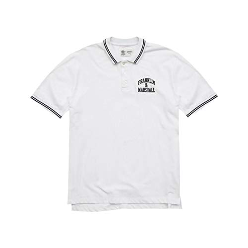 Franklin & Marshall Men's Chest Print Polo T-Shirt