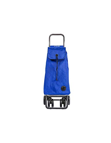 Carro Rolser I-Max MF 4 Ruedas 2 Giratorias Plegable - Azul