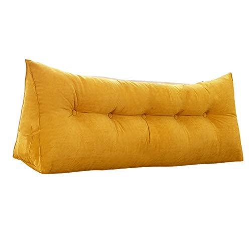 BC1011 Multifunctioneel gewatteerd driehoekig wig kussen zacht sofa hoofddeel rugleuning leeskussen voor rugleuning voor volwassenen dagbed stapelbed slapen