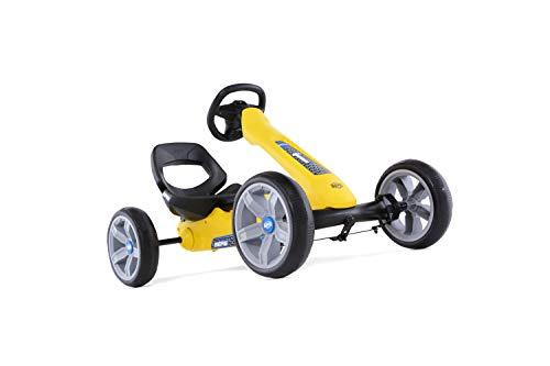 BERG Gokart Reppy Rider   KinderFahrzeug, Tretauto mit Optimale Sicherheid, Mit Option zur Soundbox, Kinderspielzeug geeignet für Kinder im Alter von 2.5-6 Jahren