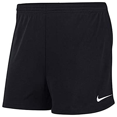Nike Women's Dry Park II Shorts (Black/White) (M)