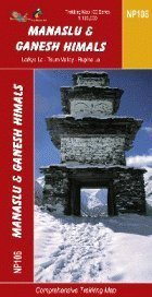Manaslu and Ganesh Himals Region: 1:125,000 Trekking Map (The Great Himalaya Trail Series Maps) (NP106)