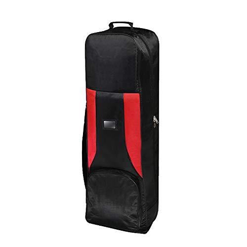 ZDAMN Golfbag Männer Frauen Golf Reisetasche Golf Luftfahrt Tasche Golf Air Bag Faltbare Flugzeug Tasche Tragbare Luft Transport Ball Tasche Leichtes Golfbag (Farbe : C1, Größe : 130 * 27cm)