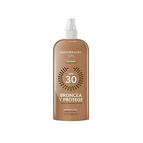 bronzage et protège suntan Lotion SPF30 200 ML