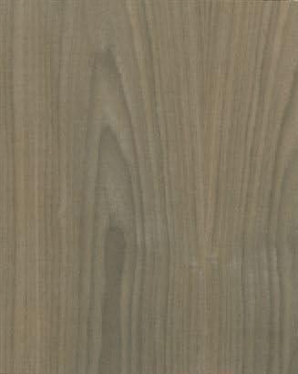 Wood-All Walnut, Wood Veneer Sheet, Plain Sliced/Flat Cut, 48x12