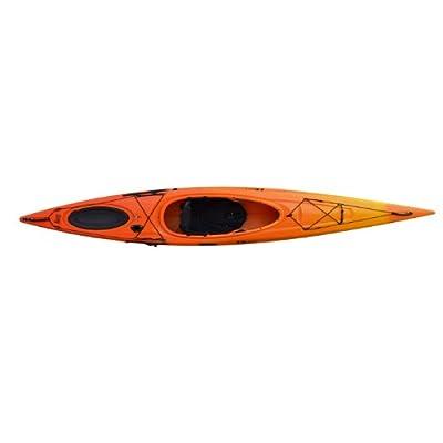 Edge 11 Riot Kayaks Edge 11 LV Flatwater Day Touring Kayak (Yellow/Orange, 11-Feet) from Riot Kayaks