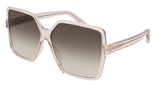Saint Laurent Sonnenbrillen BETTY SL 232 NUDE/BROWN SHADED Damenbrillen