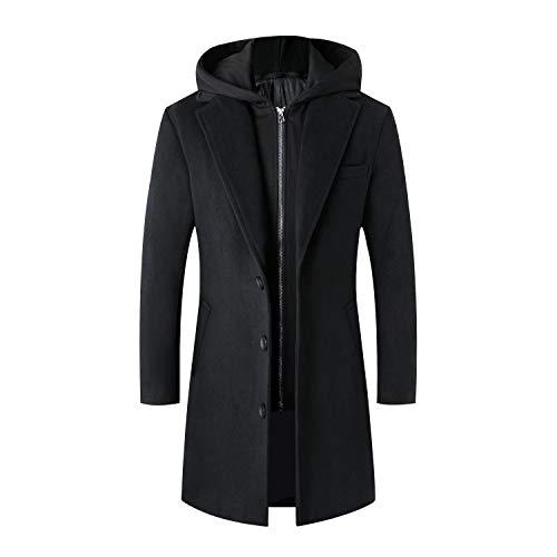 Mens Overcoat Hood