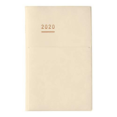 コクヨ ジブン手帳 mini DIARY 手帳 2020年 B6 スリム マンスリー&ウィークリー クリーム ニ-JCMD2LY-20