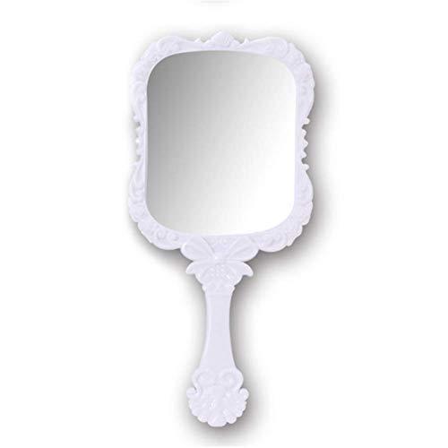 Molinter Espejo de mano profesional de peluquería para mujer y hombre, espejo...