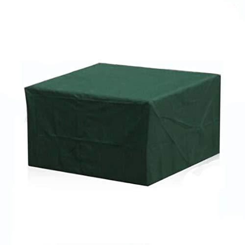 OKMIJN Patio Verde Conjunto, Rectangular Mesa de Comedor Conjunto, Muebles de jardín al Aire Libre Set, Jardín de Muebles (15 tamaños) (Size : 123 * 61 * 72cm)