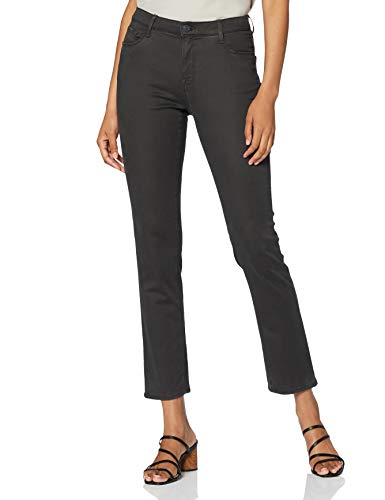 BRAX Damen Slim Fit Jeans Hose Style Mary Stretch Baumwolle, Grau, 32W / 32L (Herstellergröße: 42)