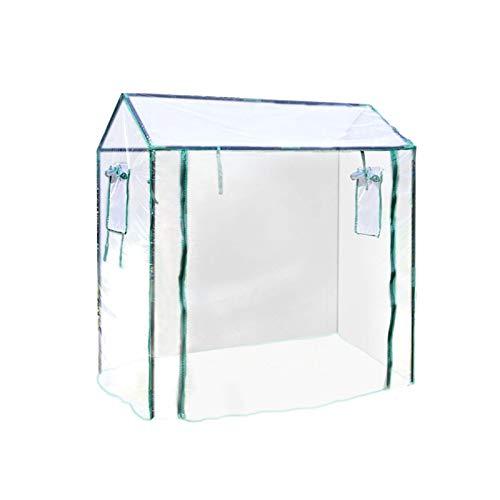 miss-an Foliengewächshaus, Folientunnel Gewächshaus - Tragbar | Langlebig | Gewächshausabdeckungn Für Indoor Outdoor Samen Kräuterblumenpflanzen Wachsen
