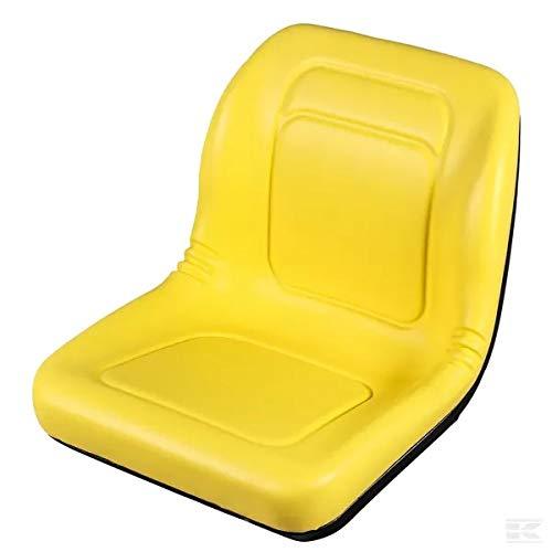 Traktorsitz gelb PVC 462 x 545 mm GOPART