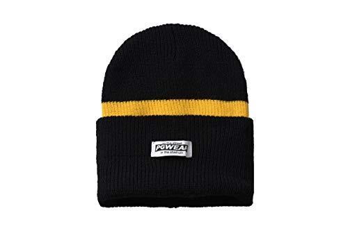 PG Wear Troublemaker Beanie Wintermütze (One Size, schwarz/gelb)
