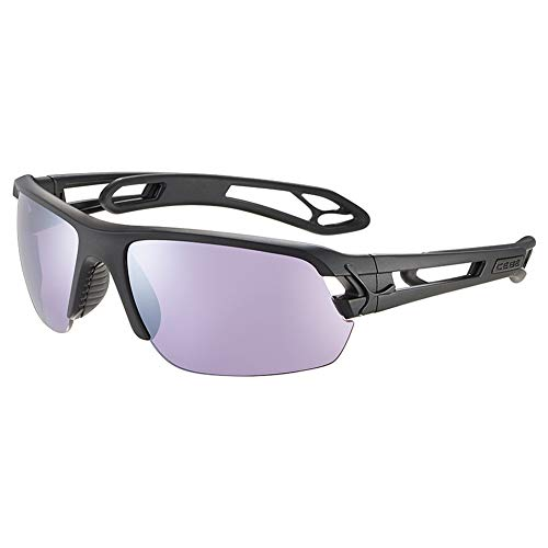 Cébé S'Track M Gafas de sol Adultos unisex Matt Purple Salmon Medium