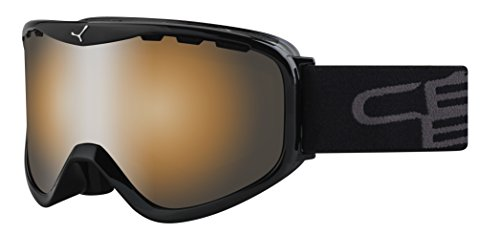 Cébé Skibrille Ridge Otg, Black/Orange Flash Mirror, CBG72