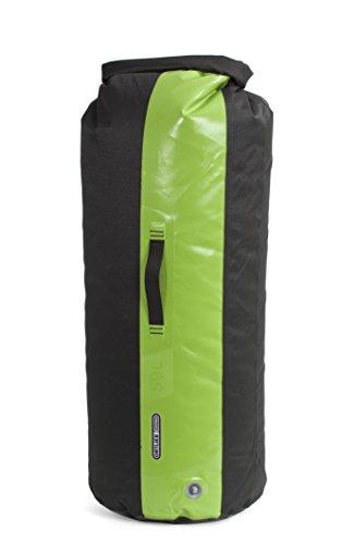 Ortlieb - Bolso (con válvula, 59 L), Color Negro y Verde