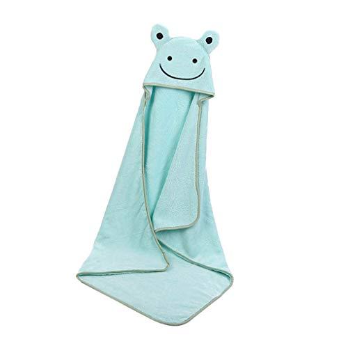 Boburyl Poliéster algodón Kid Toalla de baño de Dibujos Animados bebé Albornoz absorbentes de Agua Lavable Niño, Seco, sin Perfume Paños Toallita