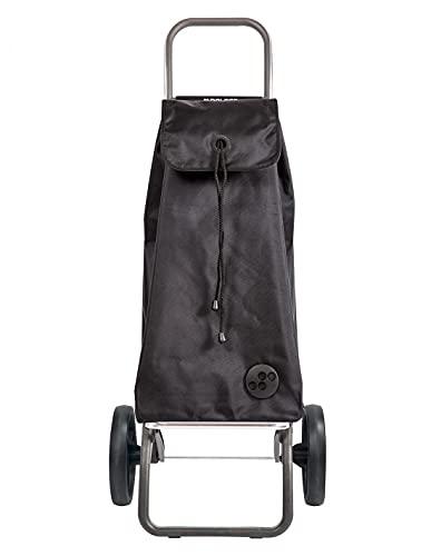 Rolser Carro I-MAX MF 2 Ruedas Grandes Plegable - Negro