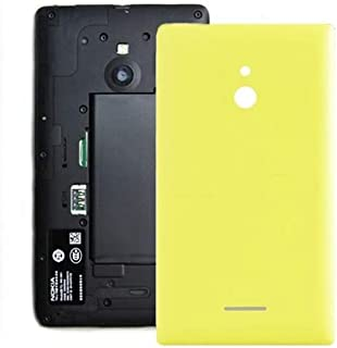 Practical Convenient Spare Parts Compatible with Nokia Lumia XL Battery Back Cover Replacement Parts (Color : Yellow)
