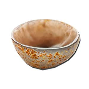 Gbrand Rough Agate Bowl, Scrying and Smudge Bowl, Sage Holder Burner