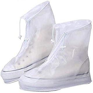 Adultos Reutilizables Zapatos Para La Lluvia Impermeables Planas Zapatos De Goma Botas De Agua De Lluvia